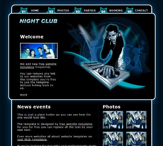Шаблоны html сайтов бесплатно